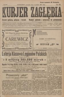 Kurjer Zagłębia : dziennik społeczny, polityczny i literacki. R.12, nr 274 (6 grudnia 1917)