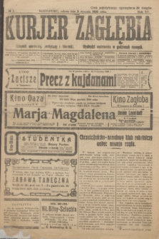 Kurjer Zagłębia : dziennik społeczny, polityczny i literacki. R.15, № 3 (3 stycznia 1920)