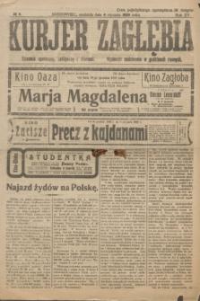 Kurjer Zagłębia : dziennik społeczny, polityczny i literacki. R.15, № 4 (4 stycznia 1920)