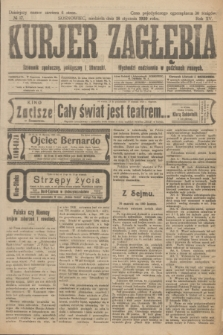 Kurjer Zagłębia : dziennik społeczny, polityczny i literacki. R.15, № 17 (18 stycznia 1920)