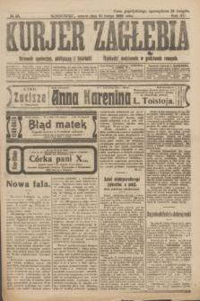 Kurjer Zagłębia : dziennik społeczny, polityczny i literacki. R.15, № 35 (10 lutego 1920)