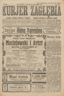 Kurjer Zagłębia : dziennik społeczny, polityczny i literacki. R.15, № 36 (11 lutego 1920)
