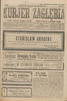 Kurjer Zagłębia : dziennik społeczny, polityczny i literacki. R.15, № 44 (20 lutego 1920)