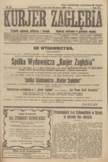 Kurjer Zagłębia : dziennik społeczny, polityczny i literacki. R.15, № 78 (31 marca 1920)