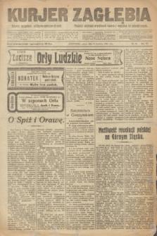 Kurjer Zagłębia : dziennik bezpartyjny polityczno-społeczno-literacki. R.15, nr 96 (24 kwietnia 1920)