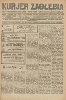 Kurjer Zagłębia : dziennik bezpartyjny polityczno-społeczno-literacki. R.15, nr 231 (8 października 1920)