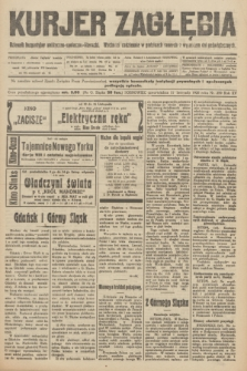 Kurjer Zagłębia : dziennik bezpartyjny polityczno-społeczno-literacki. R.15, nr 259 (11 listopada 1920)