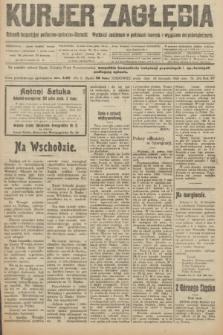 Kurjer Zagłębia : dziennik bezpartyjny polityczno-społeczno-literacki. R.15, nr 270 (24 listopada 1920)