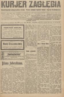 Kurjer Zagłębia : dziennik bezpartyjny polityczno-społeczno-literacki. R.15, nr 279 (4 grudnia 1920)