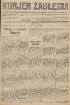 Kurjer Zagłębia : dziennik bezpartyjny polityczno-społeczno-literacki. R.15, nr 292 (14 grudnia 1920)