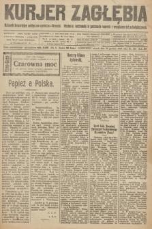 Kurjer Zagłębia : dziennik bezpartyjny polityczno-społeczno-literacki. R.15, nr 296 (28 grudnia 1920)