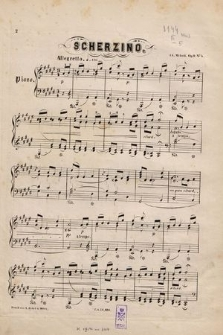 Scherzino : (fa disièse majeur) Fis-dur