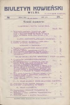 Biuletyn Kowieński Wilbi. 1926, № 28 (31 marca) + dod.