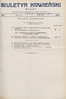 Biuletyn Kowieński Wilbi. 1931, nr 391 (18 lutego)