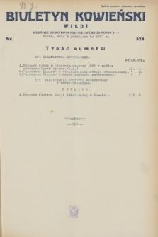 Biuletyn Kowieński Wilbi. 1931, nr 528 (8 października)