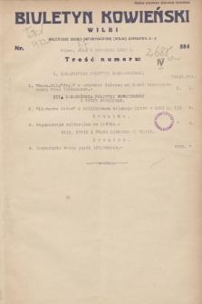 Biuletyn Kowieński Wilbi. 1932, nr 584 (5 stycznia)
