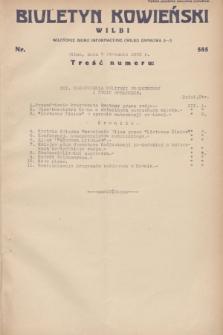 Biuletyn Kowieński Wilbi. 1932, nr 585 (7 stycznia)