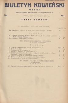 Biuletyn Kowieński Wilbi. 1932, nr 587 (11 stycznia)