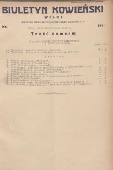 Biuletyn Kowieński Wilbi. 1932, nr 589 (13 stycznia)
