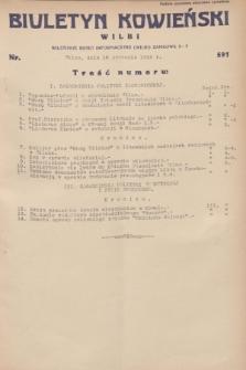 Biuletyn Kowieński Wilbi. 1932, nr 591 (16 stycznia)