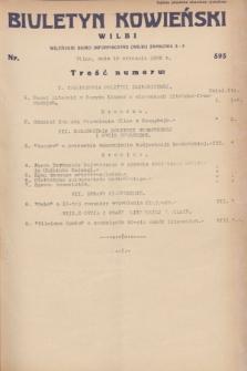 Biuletyn Kowieński Wilbi. 1932, nr 593 (19 stycznia)