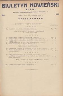 Biuletyn Kowieński Wilbi. 1932, nr 595 (21 stycznia)