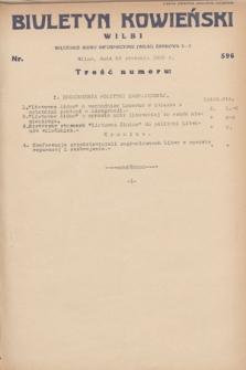 Biuletyn Kowieński Wilbi. 1932, nr 596 (23 stycznia)