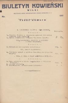 Biuletyn Kowieński Wilbi. 1932, nr 597 (25 stycznia)