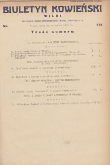 Biuletyn Kowieński Wilbi. 1932, nr 598 (26 stycznia)