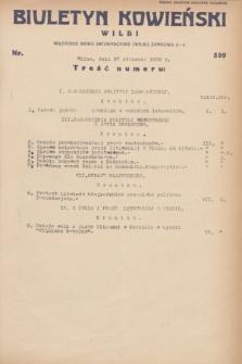 Biuletyn Kowieński Wilbi. 1932, nr 599 (27 stycznia)