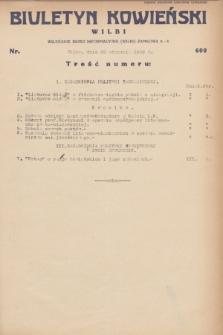 Biuletyn Kowieński Wilbi. 1932, nr 600 (29 stycznia)