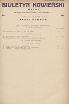 Biuletyn Kowieński Wilbi. 1932, nr 608 (12 lutego)