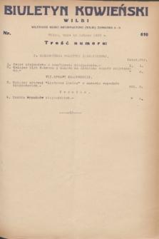 Biuletyn Kowieński Wilbi. 1932, nr 610 (15 lutego)