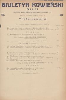 Biuletyn Kowieński Wilbi. 1932, nr 614 (20 lutego)