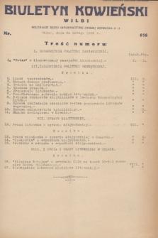 Biuletyn Kowieński Wilbi. 1932, nr 616 (24 lutego)