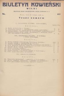 Biuletyn Kowieński Wilbi. 1932, nr 617 (25 lutego)