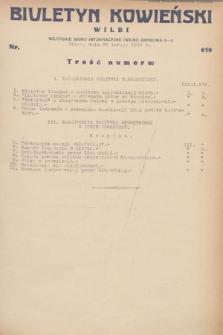 Biuletyn Kowieński Wilbi. 1932, nr 619 (29 lutego)