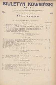 Biuletyn Kowieński Wilbi. 1932, nr 620 (1 marca)