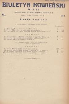 Biuletyn Kowieński Wilbi. 1932, nr 621 (3 marca)