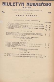 Biuletyn Kowieński Wilbi. 1932, nr 622 (5 marca)