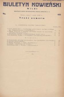 Biuletyn Kowieński Wilbi. 1932, nr 623 (7 marca)