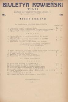 Biuletyn Kowieński Wilbi. 1932, nr 624 (8 marca)