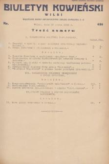 Biuletyn Kowieński Wilbi. 1932, nr 626 (10 marca)
