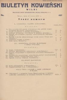 Biuletyn Kowieński Wilbi. 1932, nr 627 (11 marca)