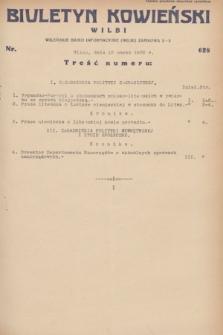 Biuletyn Kowieński Wilbi. 1932, nr 628 (12 marca)