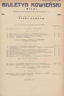 Biuletyn Kowieński Wilbi. 1932, nr 629 (15 marca)
