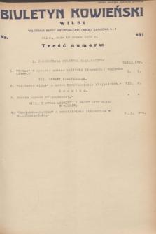 Biuletyn Kowieński Wilbi. 1932, nr 631 (19 marca)