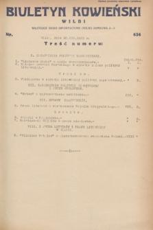 Biuletyn Kowieński Wilbi. 1932, nr 636 (30 marca)