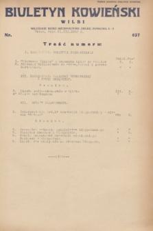 Biuletyn Kowieński Wilbi. 1932, nr 637 (31 marca)
