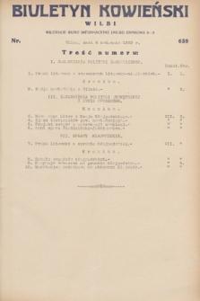 Biuletyn Kowieński Wilbi. 1932, nr 639 (5 kwietnia)